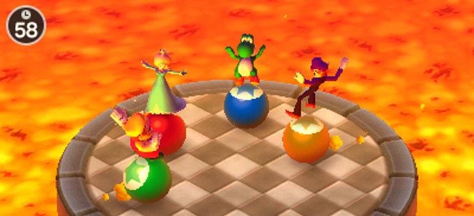 ¿Cómo funcionan los amiibo con Mario Party: The Top 100 para Nintendo 3DS?