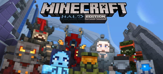 Halo Mash-Up Pack llegará a Minecraft Nintendo Switch Edition