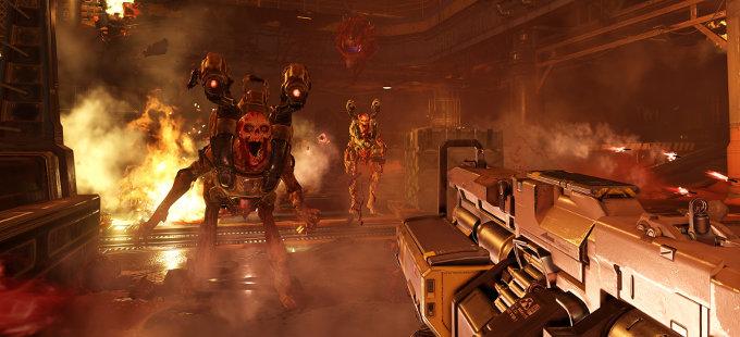 Un nuevos vistazo a Doom para Nintendo Switch