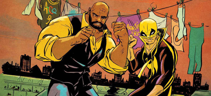 Iron Fist se une a la segunda temporada de Luke Cage