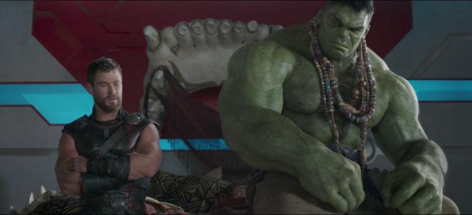 Thor: Ragnarok y Avengers: Infinity War, parte de la trilogía de Hulk