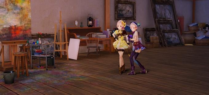 Así se ve en acción Atelier Lydie & Suelle para Nintendo Switch
