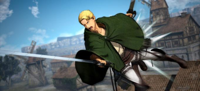 Siguen llegando combatientes a Attack on Titan 2 para Nintendo Switch