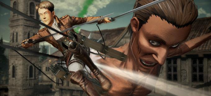 ¿Qué tal se verá Attack on Titan 2 para Nintendo Switch?