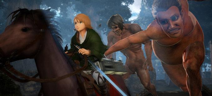 Más personajes llegarán a Attack on Titan 2 para Nintendo Switch