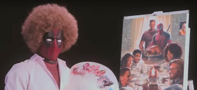 El primer tráiler de Deadpool 2, al estilo de Bob Ross