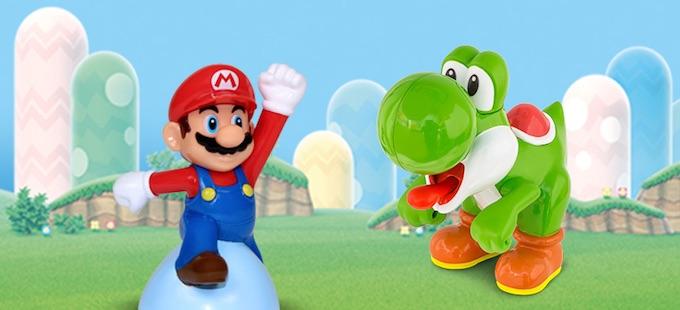 Nuevos juguetes de Mario Bros. de la Cajita Feliz en México