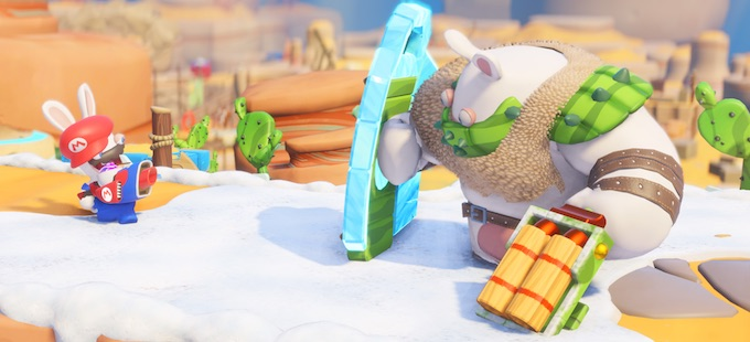 Mario + Rabbids Kingdom Battle brilla en el reporte de Ubisoft