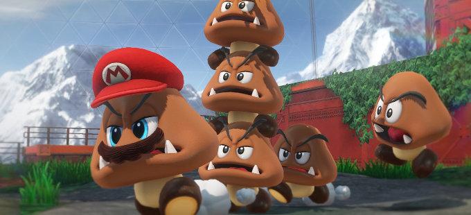 Super Mario Odyssey para Nintendo Switch y el manejo de la sorpresa