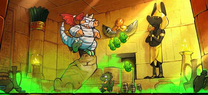 Wonder Boy: The Dragon's Trap para Nintendo Switch, con edición física