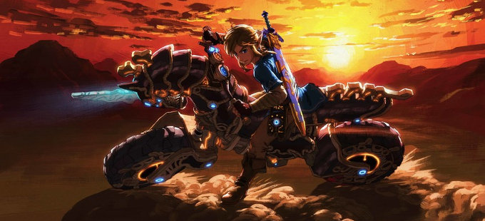¿Cómo llegó una moto a The Legend of Zelda: Breath of the Wild?