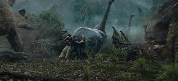El primer tráiler de Jurassic World: Fallen Kingdom, para el jueves