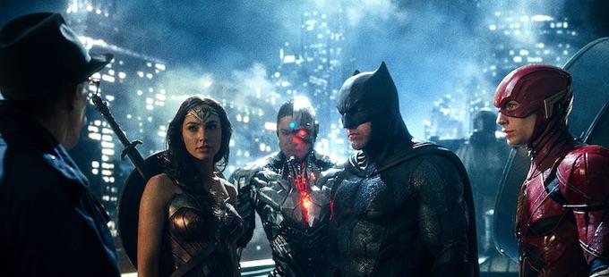 El fracaso de Justice League cimbra al DCEU de Warner Bros.