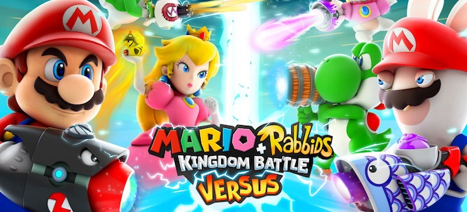 Mario + Rabbids Kingdom Battle para Nintendo Switch consigue Versus Mode