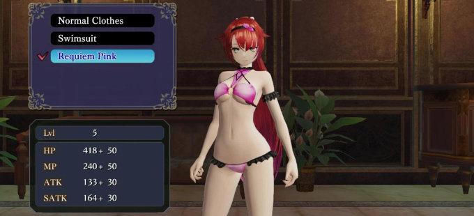 Llega nuevo DLC para Nights of Azure 2 para Nintendo Switch