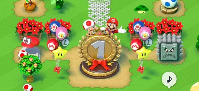 Nintendo celebra el aniversario de Super Mario Run