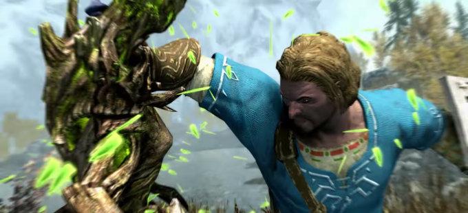 ¿Cómo llegó Zelda a The Elder Scrolls V: Skyrim para Nintendo Switch?