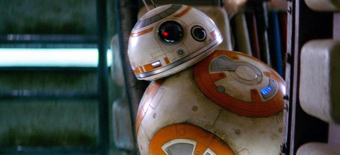 El droide BB-8 de Star Wars tenía otro nombre