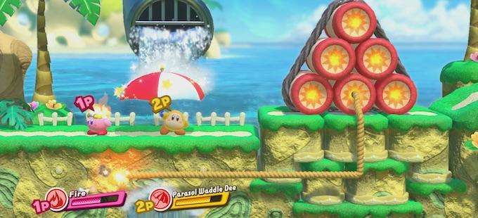 Conociendo a nuestros amigos en Kirby Star Allies para Nintendo Switch