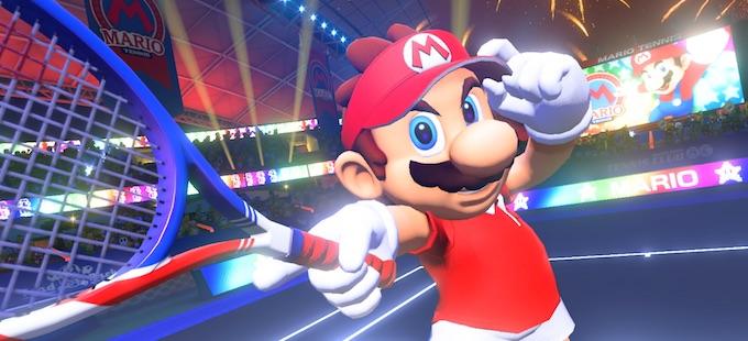 Mario Tennis Aces para Nintendo Switch sale en primavera