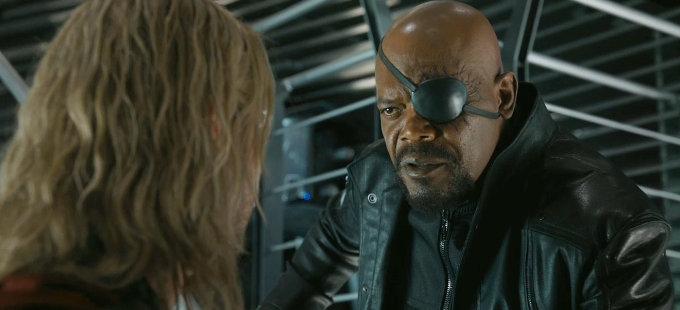 ¿Cómo será Nick Fury en Captain Marvel?