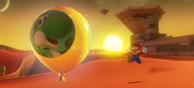 Lo que agrega Balloon World a Super Mario Odyssey para Nintendo Switch