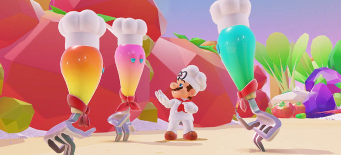 Super Mario Odyssey para Nintendo Switch, el más vendido en Amazon en 2017