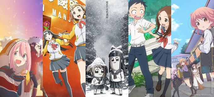 [Top 10] ¿Qué anime de invierno 2018 es el más visto en Japón?