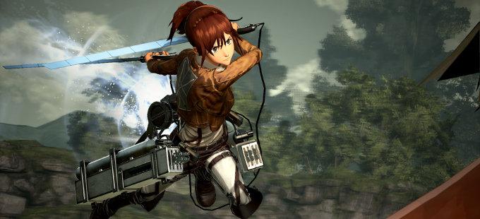 Así son las batallas en Attack on Titan 2 para Nintendo Switch