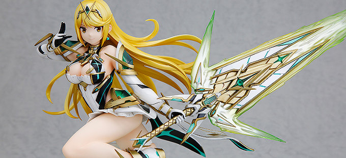 Wonder Festival 2018 Winter: Figura de Mythra de Xenoblade Chronicles 2