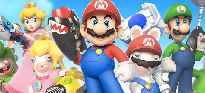 Mario + Rabbids Kingdom Battle para Nintendo Switch, el más vendido de un licenciatario