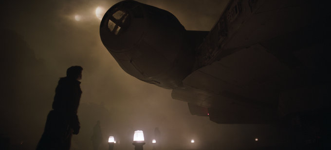 """George Lucas """"dirigió"""" una escena de Han Solo: Una Historia de Star Wars"""