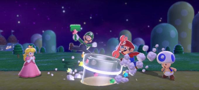 ¡Así es, Super Mario vuelve a ser plomero!