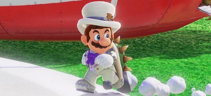 ¿Cómo inició la película de Super Mario Bros.?