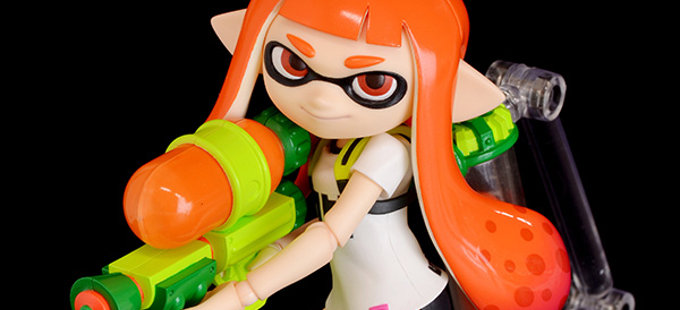 Wonder Festival 2018 Winter: figma de Inkling Girl de Splatoon