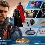 Figura Hot Toys de Thor de Avengers: Infinity War