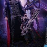 Figura Hot Toys de Thor, Groot y Rocket Raccoon de Avengers: Infinity War