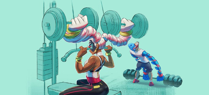 Twintelle, muy popular en ARMS para Nintendo Switch