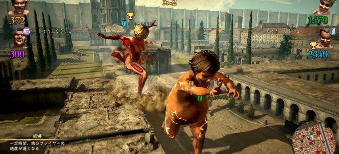 Attack on Titan 2 para Nintendo Switch consigue Predator Mode