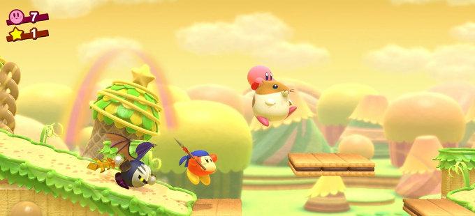 Viejos amigos en Kirby Star Allies para Nintendo Switch