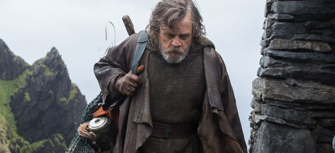 ¿Qué pasó con Luke Skywalker en Star Wars: The Last Jedi?