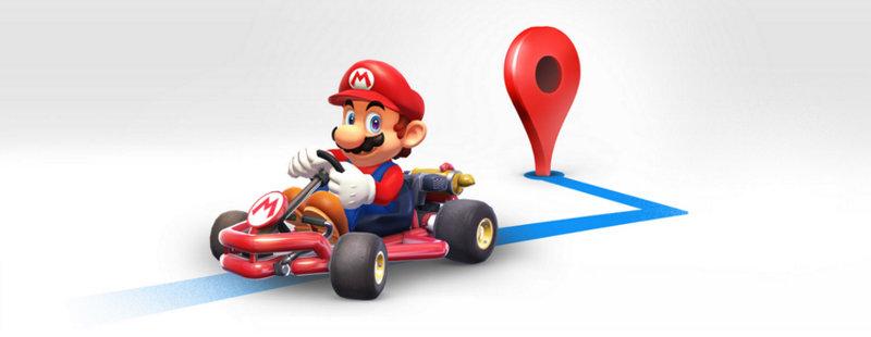 Celebra el MAR10 DAY con Mario Kart en Google Maps