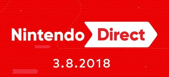 Disfruta del Nintendo Direct [08-03-2018] en Universo Nintendo