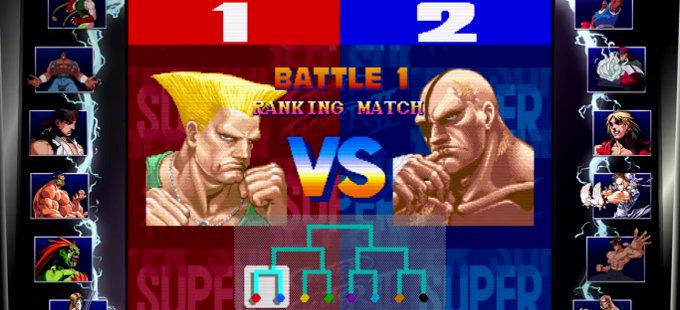 Street Fighter 30th Anniversary Collection para Nintendo Switch y su modo torneo