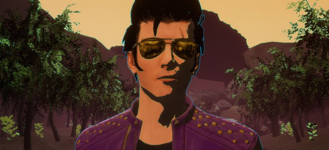 Travis Strikes Again: No More Heroes, con un toque de Hyper Light Drifter