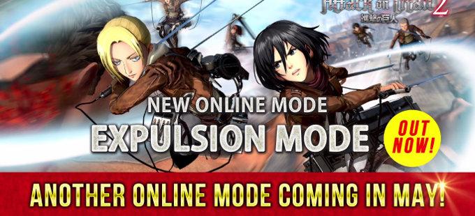Attack on Titan 2 para Nintendo Switch se enriquece con el Expulsion Mode