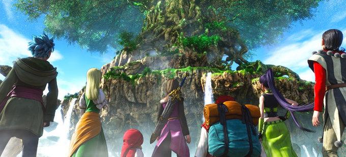 Dragon Quest XI para Nintendo Switch y sus problemas con Unreal Engine