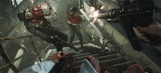 14 minutos de Wolfenstein II: The New Colossus para Nintendo Switch