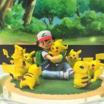 Nuevas figuras de Pokémon - Ash Ketchum y Pikachu G.E.M.