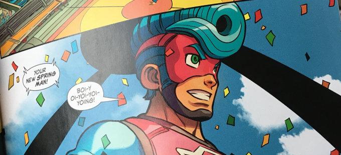 La novela gráfica de ARMS para Nintendo Switch se va a 2019